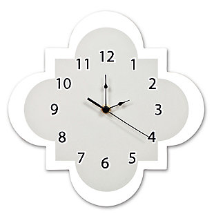 Trend Lab Dove Gray Wall Clock, , large