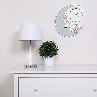 Trend Lab Unicorn Dreams Wall Clock, , rollover