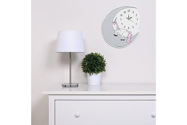 Trend Lab Unicorn Dreams Wall Clock, , large