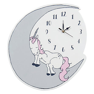 Trend Lab Unicorn Dreams Wall Clock, , large