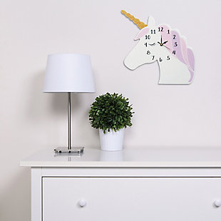 Trend Lab Unicorn Wall Clock, , rollover