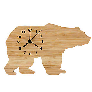 Trend Lab Bamboo Bear Wall Clock, , large