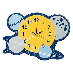 Trend Lab Galaxy Wall Clock, , large