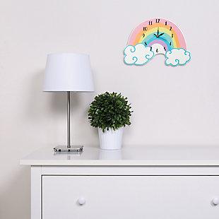 Trend Lab Rainbow Wall Clock, , rollover