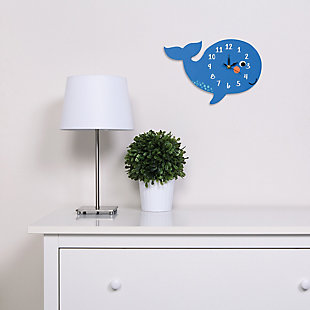 Trend Lab Whale Wall Clock, , rollover