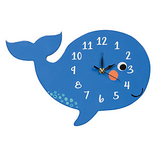Trend Lab Whale Wall Clock, , large