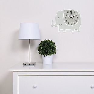 Trend Lab Elephant Wall Clock, , rollover