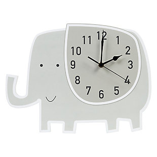 Trend Lab Elephant Wall Clock, , large