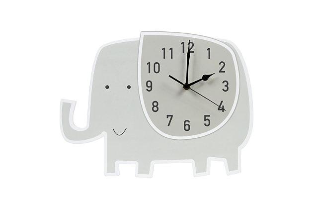 Trend Lab Elephant Wall Clock, , large