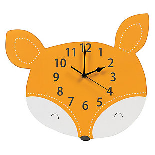 Trend Lab Fox Wall Clock, , large