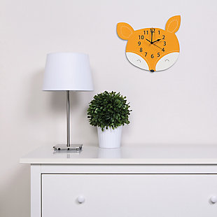 Trend Lab Fox Wall Clock, , large