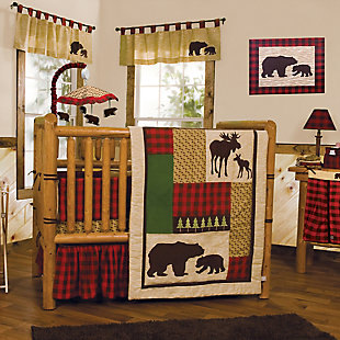 Trend Lab Northwoods Bear Canvas Wall Art, , rollover