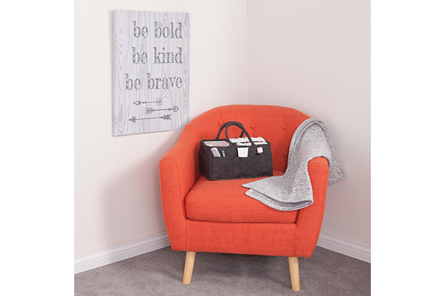 Trend Lab Be Bold, Be Kind, Be Brave Canvas Wall Art, , large