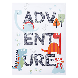 Trend Lab Dinosaur Adventure Canvas Wall Art, , large