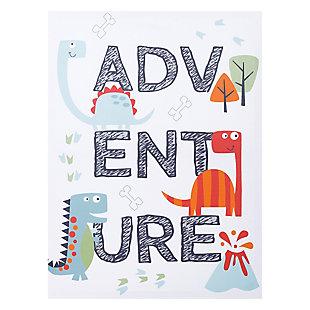 Trend Lab Dinosaur Adventure Canvas Wall Art, , large