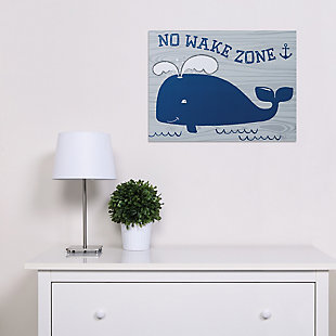 Trend Lab No Wake Zone Canvas Wall Art, , rollover