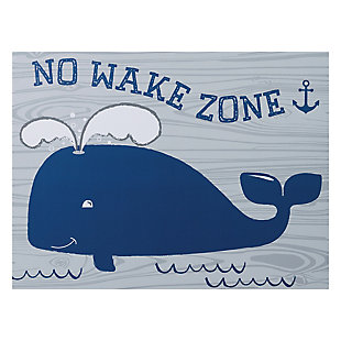 Trend Lab No Wake Zone Canvas Wall Art, , large