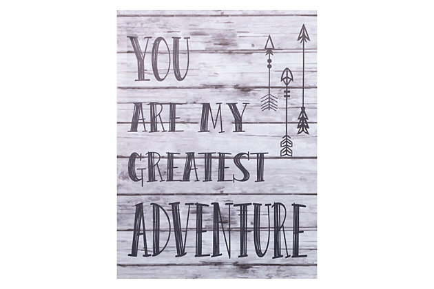 Trend Lab My Greatest Adventure Canvas Wall Art, , large