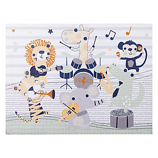 Trend Lab Safari Rock Band Canvas Wall Art, , rollover
