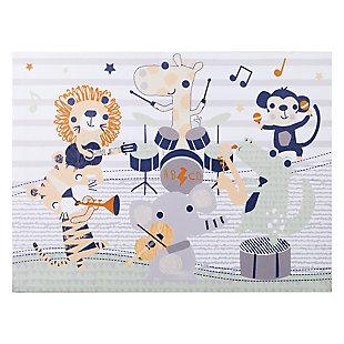 Trend Lab Safari Rock Band Canvas Wall Art, , large