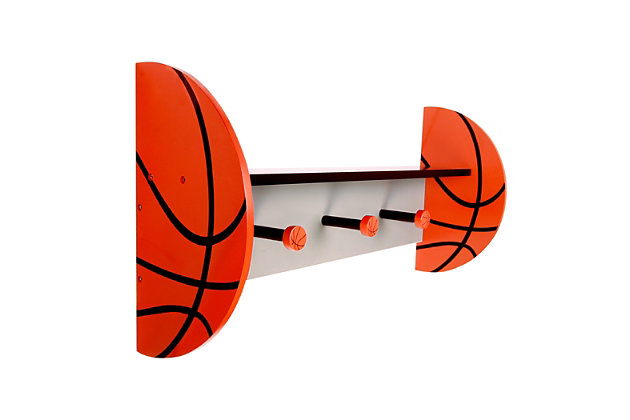 Trend Lab Basketball Wall Shelf, , large