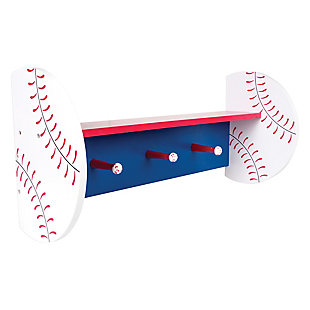 Trend Lab Baseball Wall Shelf, , large