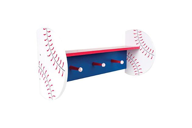 Trend Lab Baseball Wall Shelf, , large