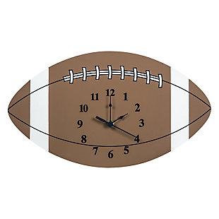 Trend Lab Football Wall Clock, , large