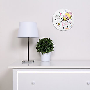 Trend Lab Oh the Places You'll Go Pink Wall Clock, , rollover