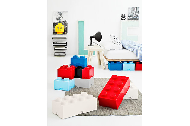 Lego ®  Storage Brick 4 - Red, Red, large