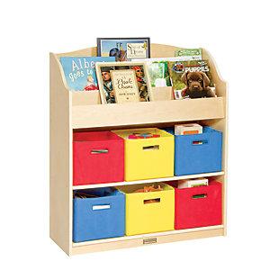 Guidecraft Book and Bin Storage, , rollover