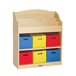 Guidecraft Book and Bin Storage, , large