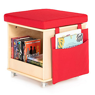 Guidecraft Storytime Cube Stool, , rollover
