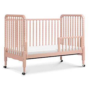 Davinci Jenny Lind Stationary Crib in Blush Pink, Pink, large