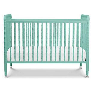 Davinci Jenny Lind Stationary Crib in Lagoon, Blue, large