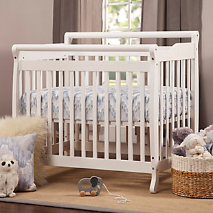 Davinci Emily 4-in-1 Mini Crib and Twin Bed in White, , rollover