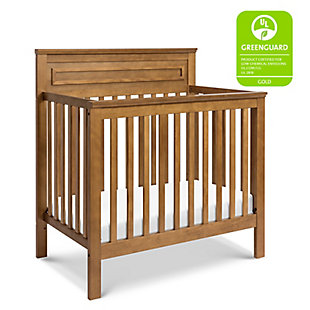Davinci Autumn 4-in-1 Convertible Mini Crib in Chestnut, Brown, large