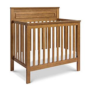 Davinci Autumn 4-in-1 Convertible Mini Crib in Chestnut, Brown, large