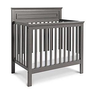 Davinci Autumn 4-in-1 Convertible Mini Crib in Slate, Gray, rollover