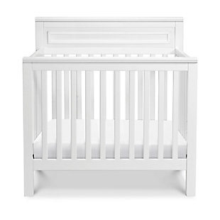 Davinci Autumn 4-in-1 Convertible Mini Crib in White, White, large