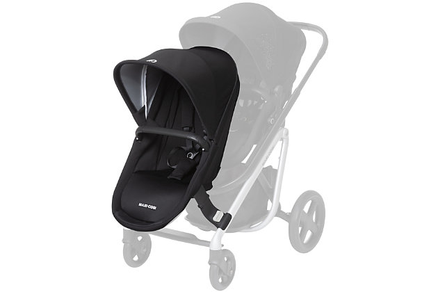 Maxi-Cosi Lila Duo Seat Accessory Kit, Black, large