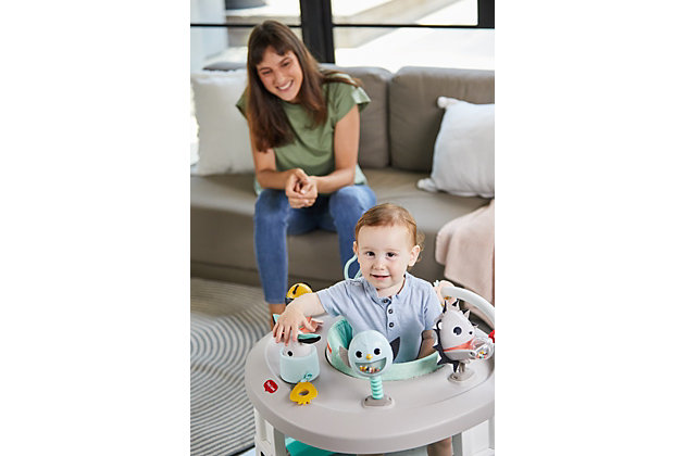 Tiny Love Black & White 4-in-1 Here I Grow Mobile Activity Center, , large
