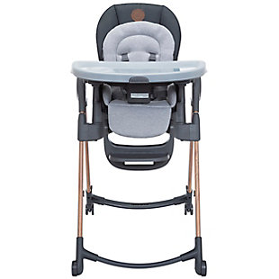 Maxi-Cosi Minla 6-in-1 Adjustable High Chair, Gray, rollover