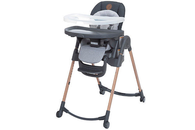 Maxi-Cosi Minla 6-in-1 Adjustable High Chair, Gray, large