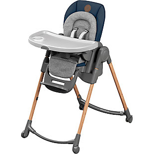 Maxi-Cosi Minla 6-in-1 Adjustable High Chair, Blue, large