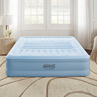 "Beautyrest Silver Lumbar Supreme 18"" Queen Air Mattress with Pump, , rollover"