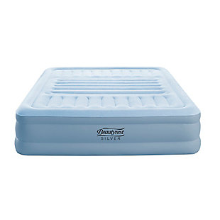 "Beautyrest Silver Lumbar Supreme 18"" Queen Air Mattress with Pump, , large"