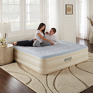 "Beautyrest Silver Lumbar Supreme 18"" King Air Mattress with Pump, , large"