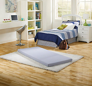 Simmons® BeautySleep® Siesta Twin Memory Foam Rollup Guest Bed, , rollover