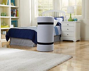 Simmons® BeautySleep® Siesta Twin Memory Foam Rollup Guest Bed, , large